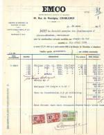 Charleroi - 1935 - EMCO - Société Coopérative D'électricité Et Mécanique - Électricité & Gaz