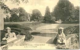 Sandillon : Château Du Bruel - Le Parc Et La Chapelle - France