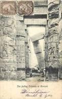 Egypte - Ref A98- Le Falling Colonne At Karnak    - - Egypt