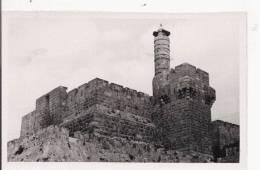 DAVID 'S  TOWER  JERUSALEM  (CARTE PHOTO) - Israele