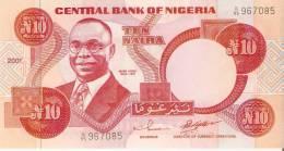 BILLETE DE NIGERIA DE 10 NAIRA DEL AÑO 2001  SIN CIRCULAR-UNCIRCULATED (BANKNOTE) - Nigeria