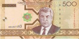 BILLETE DE TURKMENISTAN DE 500 MANAT DEL AÑO 2005  SIN CIRCULAR-UNCIRCULATED (BANKNOTE) - Turkmenistán