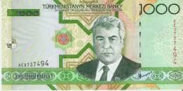 BILLETE DE TURKMENISTAN DE 1000 MANAT DEL AÑO 2005  SIN CIRCULAR-UNCIRCULATED (BANKNOTE) - Turkmenistán