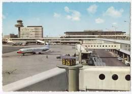 TRANSPORT AERODROMES SCHIPHOL AMSTERDAM HOLLAND BIG POSTCARD - Aerodrome
