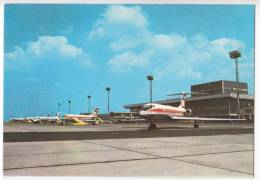 TRANSPORT AERODROMES PRAHA RUZYNE AIRPORT CZECHOSLOVAKIA BIG POSTCARD - Aerodrome