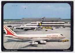 TRANSPORT AERODROMES FRANKFURT AM MAIN GERMANY BIG POSTCARD 1981. - Aerodrome