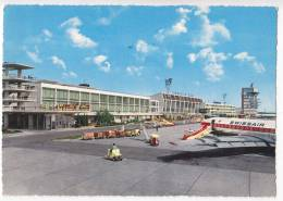 TRANSPORT AERODROMES SCHWECHAT WIEN AUSTRIA BIG POSTCARD - Aerodrome