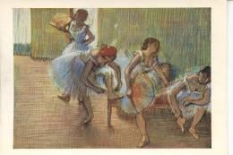 EDGAR DEGAS - DANSEUSES SUR UNE BANQUETTE - Paintings