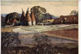 ROWLAND HILDER - OAST HOUSES - Paintings