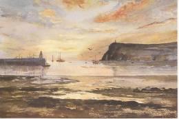 IRIS BURTON - SUNSET IN PORT ERIN - Paintings