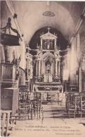 21433 MORBIHAN. SAINT JACUT.interieur L EGLISE -retable Restauré Trois Statues -laurent Nel - - Saint Jean Brevelay