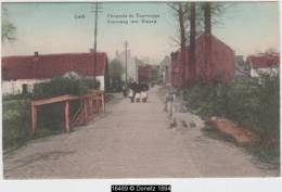 16489g STEENWEG Van DWORP - Chaussée De Tourneppe - Loth  - 1922 - Colorisée - Beersel
