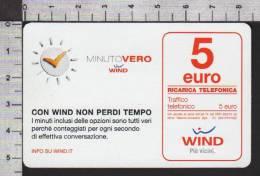 S2746 RICARICA WIND MINUTO VERO Euro 5 Scad. 30.06.2016 - Italia