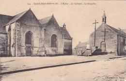 21436 Saint Jean Brevelay L'Eglise Le Calvaire La Chapelle   -604 David Vannes - Saint Jean Brevelay