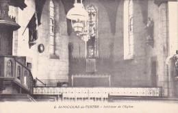 21441 SAINT NICOLAS DU TERTRE - Interieur Eglise -6J Gueho, La Gacilly - - France
