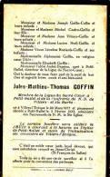 Petit-hallet, 1933, Jules Goffin, Villers-l'evêque : 1877 - Religión & Esoterismo