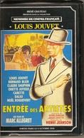 K7,VHS.René Chateau.ENTREE DES ARTISTES. Louis JOUVET, Bernard BLIER, Noël ROQUEVERT - Comedy