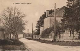 ( CPA 18 )  OSMERY  /  L'École  - - France