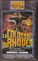 K7,VHS. Péplum. LE COLOSSE DE RHODES.Georges MARCHAL, Léa MASSARI. Film De Sergio LEONE - Action, Aventure