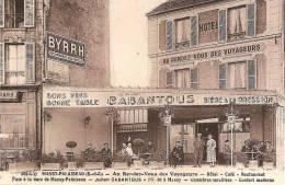 MASSY-PALAISEAU - AU RENDEZ-VOUS DES VOYAGEURS - HOTEL CAFE RESTAURANT - Massy
