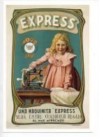Ref 103  :  CPM Pub Espagnole Espagne Machine à Coudre EXPRESS Type Singer - Advertising