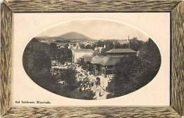 pologne - ref 108- bad salzbrunn , elisenhalle   - carte bon etat  -