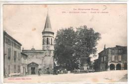 81 TARN DOURGNE Place De L'Eglise  19 - Dourgne