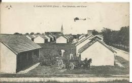 18 - CHER -  AVORD - Vue Generale Du Camp Et Un Avion - Avord