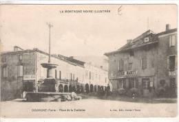 81 TARN DOURGNE Place De La Fontaine, Tabac, Epicerie, Pharmacie  24 - Dourgne