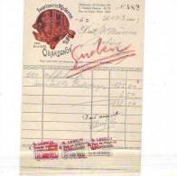 Quaregnon - 1933 - René Lebrun - Imprimerie Moderne - Imprimerie & Papeterie