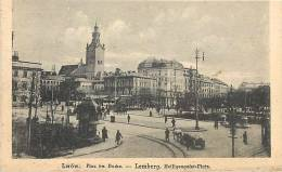 pologne - ref 51- lwow- lemberg - carte bon etat  -