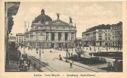 pologne - ref 50- lwow- lemberg - carte bon etat  -