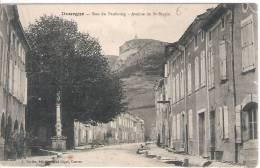 81 TARN DOURGNE Rue Du Faubourg, Avenue De St-Stapin  29 - Dourgne