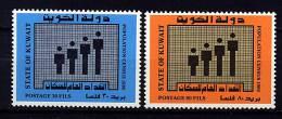SKuwait ** N° 833/834 - Recensement De La Population - Kuwait