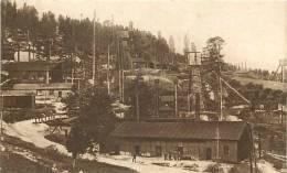 pologne - ref 34- kopalnie nafty w boryslawiu  -carte bon etat  -