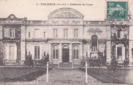 CPA 33  TALENCE, Château De LUZE.( 1909) - Other Municipalities