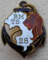 INDOCHINE Insigne 28 BMTS - Armée De Terre