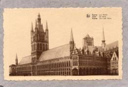 34326   Belgio,    Ypres  -  Les  Halles,  NV - Ieper