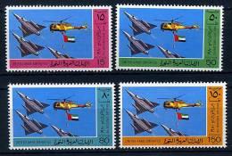 SEmirats Arabes Unis** N° 99 à 102 - 9e Journée Nationale - Avions - United Arab Emirates (General)