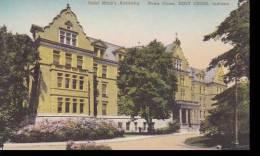 Indiana Notre Dame Holy Cross Saint Marys Academy Handcolored Al