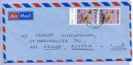 Letter OMAN To Vienna (545) - Oman