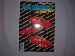 """Magazine Autombile Miniature """"spécial Ferrari"""" (n87) (aout 1991) - Magazines"""
