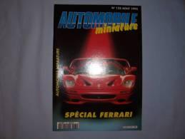 """Magazine Autombile Miniature """"spécial Ferrari"""" (n135) (aout 1995) - Magazines"""
