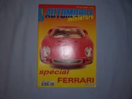 """Magazine Autombile Miniature """"spécial Ferrari"""" (n137) (aout 1996) - Magazines"""