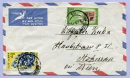 Air Mail Letter JOHANNESBURG Tu STOCKERAU Austria 1960  (185) - Südafrika (1961-...)