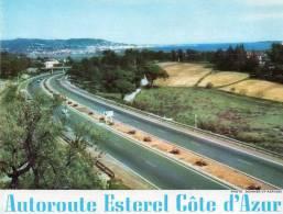 Tableau Des Tarifs Applicables Du Réseau ESCOTA Autoroute Estérel Côte D´Azur 1962  (a) (Alpes Maritimes) - Vieux Papiers