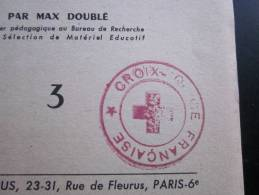 Croix-Rouge Française Ce Que L'on Peut Faire Avec Du Raphia édit Fleurus Max Doublé(table Des Matières)72 Pages - Other