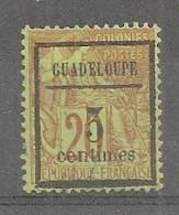 Guadeloupe  N°3(o) - Usati