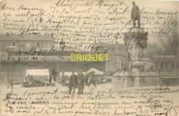 87 Limoges, Cp Pionnière, Marché Dupuytren, Affranchie 1904 - Limoges