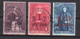 BELGIQUE     Oblitéré    Y. Et T.  N° 305 / 307     Cote:  33,50 Euros - Used Stamps